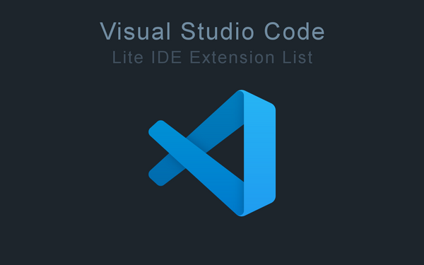 "The Obligatory ""My VSCode Setup for Web Development"" Post"